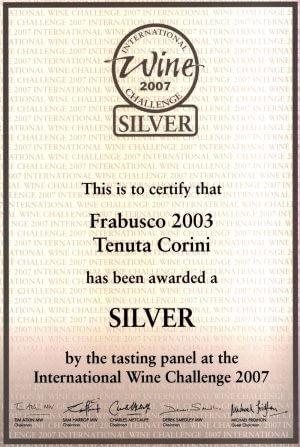 IWC Silver Medal