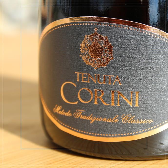 Spumante Rosè Metodo Classico Tenuta Corini